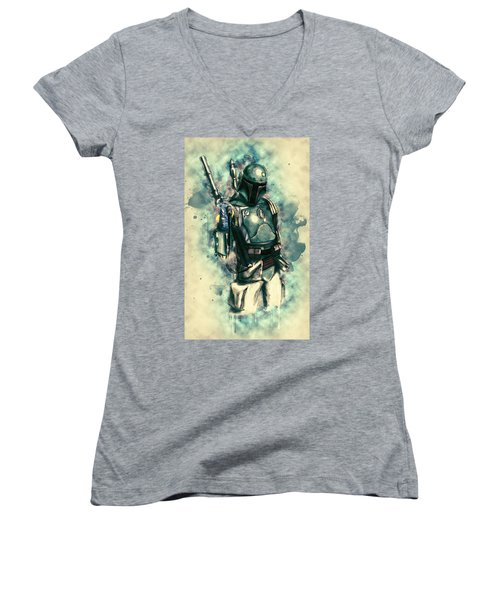 Boba Fett Women's V-Neck T-Shirt