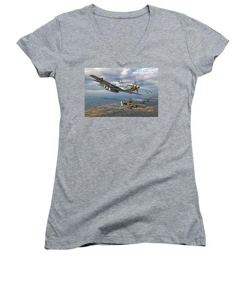 Bobak's Crew Women's V-Neck T-Shirt
