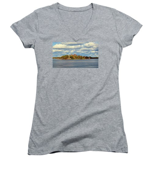 Boldt Castle Women's V-Neck (Athletic Fit)