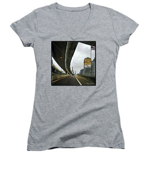Boston Sand And Gravel  Women's V-Neck T-Shirt