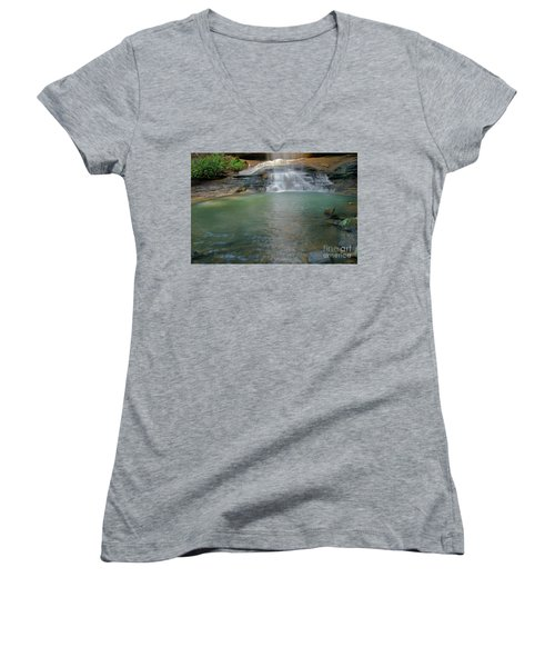 Bottom Of Falls Women's V-Neck