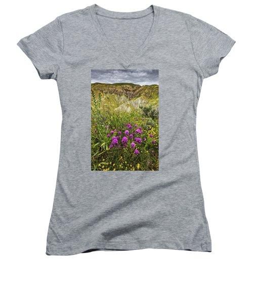 Women's V-Neck T-Shirt (Junior Cut) featuring the photograph Bouquet by Peter Tellone