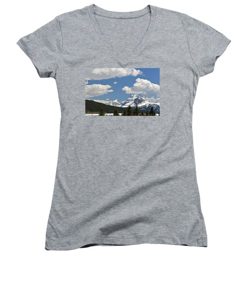 Bow Lake Women's V-Neck (Athletic Fit)