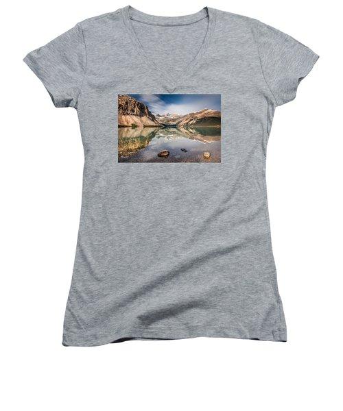 Bow Lake Glorious Reflection Women's V-Neck