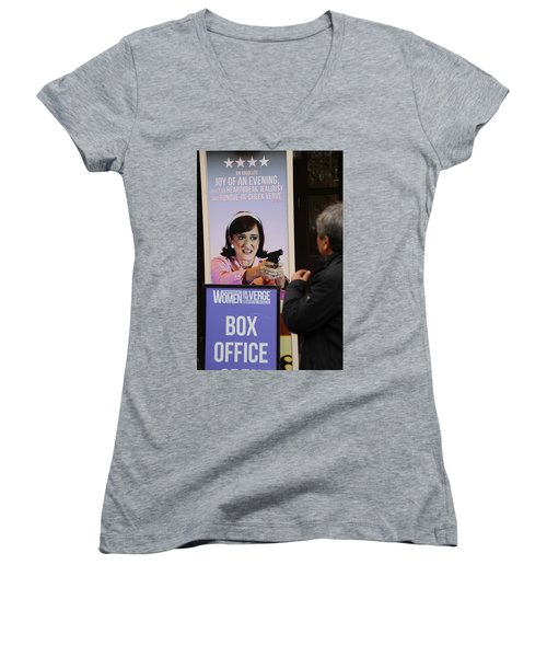 Box Office Women's V-Neck (Athletic Fit)
