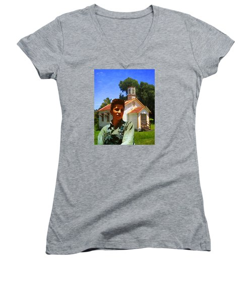 Boy And Church Women's V-Neck