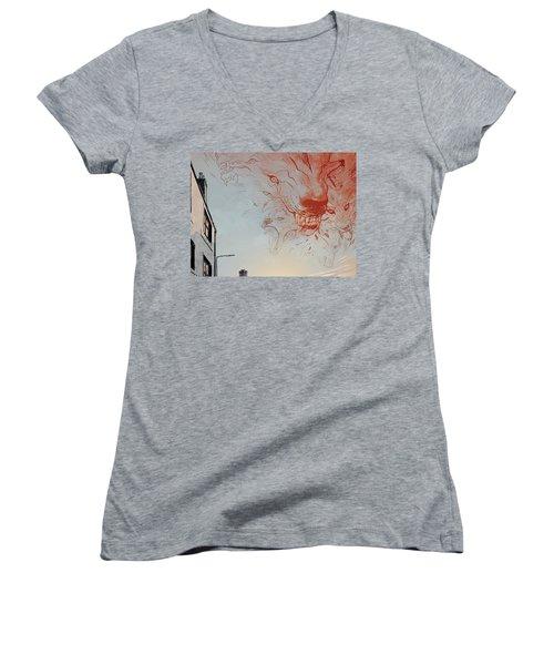 B.p.r.d. Women's V-Neck T-Shirt