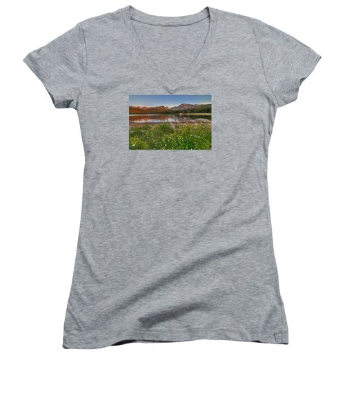 Brainard Lake Women's V-Neck (Athletic Fit)