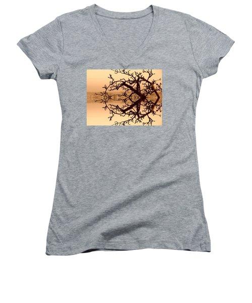 Branches In Suspension Women's V-Neck