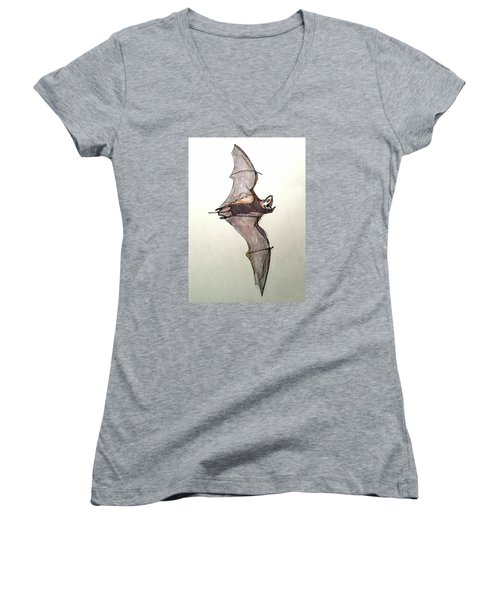 Brazilian Free-tailed Bat Women's V-Neck