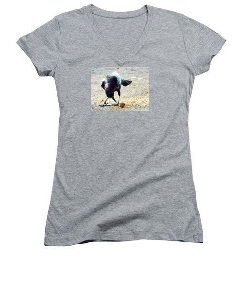 Break For Lunch Women's V-Neck (Athletic Fit)
