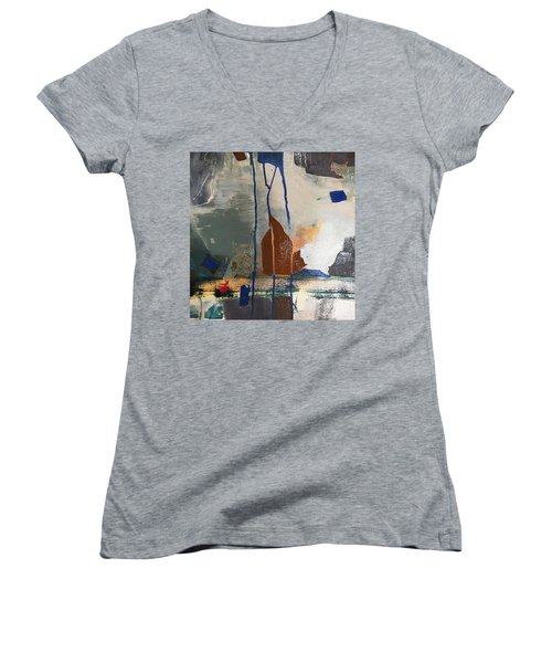 Break Of Day Women's V-Neck T-Shirt