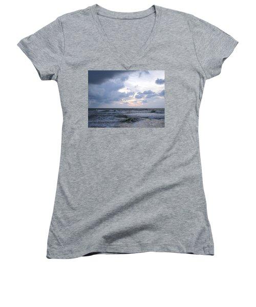 Break Of Day Women's V-Neck T-Shirt