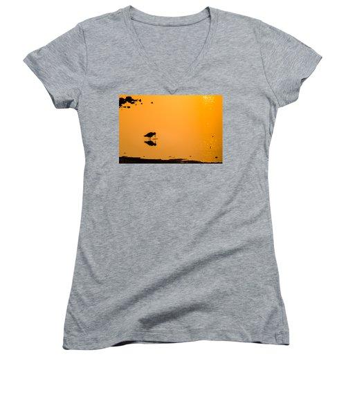 Breakfast Women's V-Neck T-Shirt