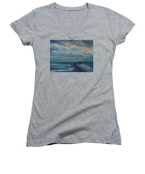 Breaking Dawn Women's V-Neck T-Shirt