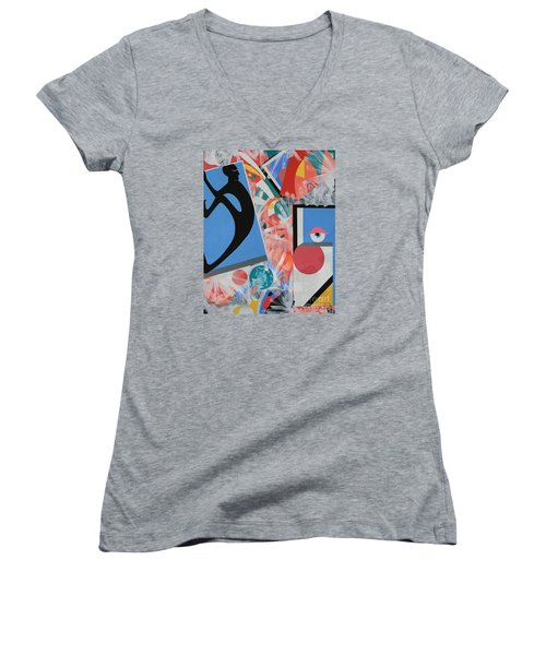 Breaking Out Women's V-Neck (Athletic Fit)