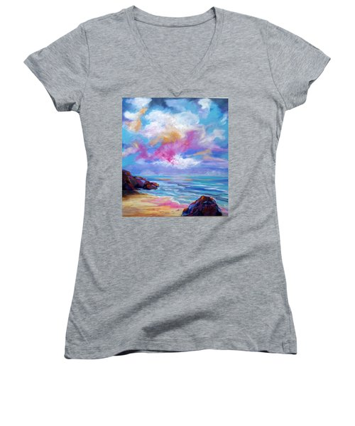 Breathtaking Women's V-Neck T-Shirt