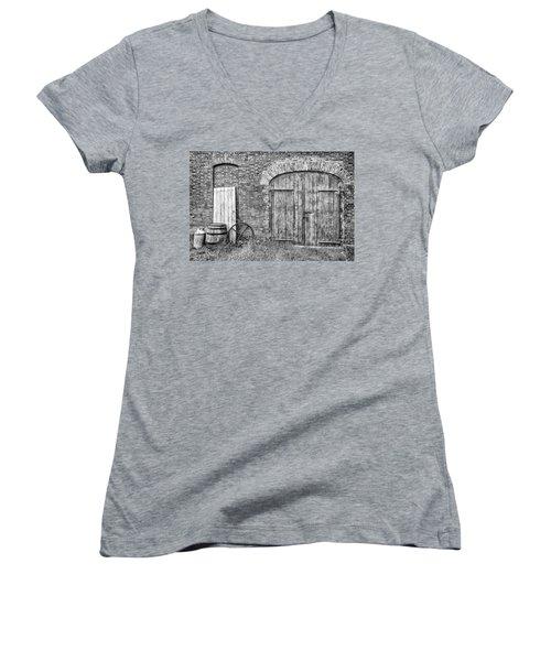 Brewhouse Door Women's V-Neck