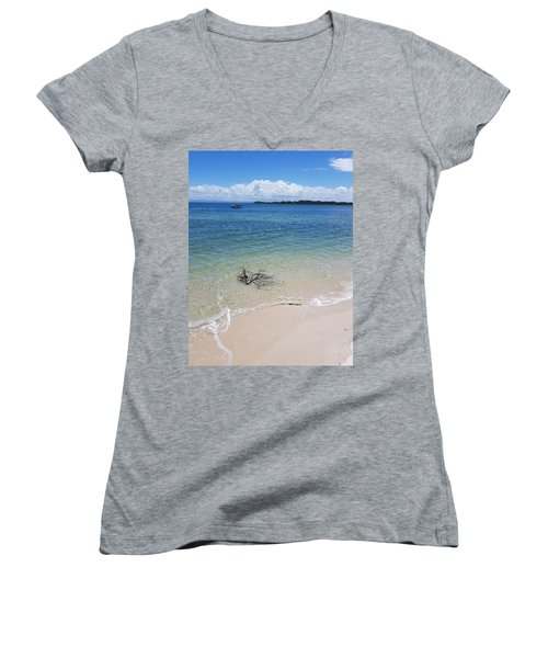 Bribie Branches  Women's V-Neck
