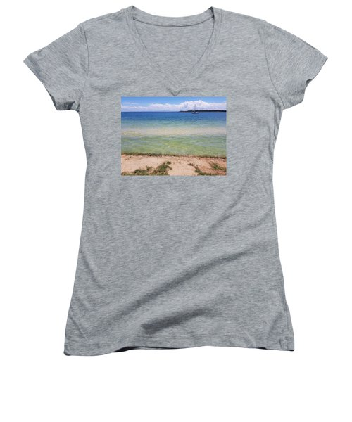 Bribie Ocean  Women's V-Neck