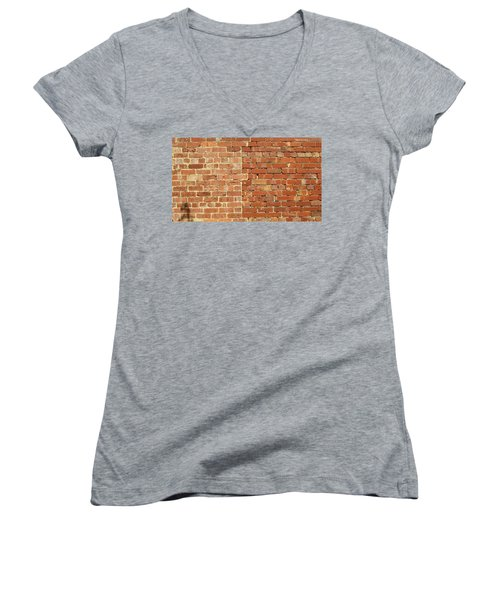 Brick Wall Women's V-Neck