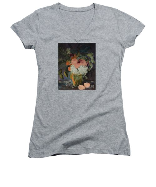 Bridal Bouquet II Women's V-Neck T-Shirt