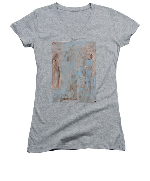 Bride Angel/ Blessed Mother Women's V-Neck