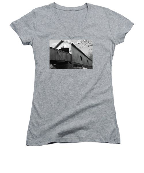 Bridge Over Troubled Water Women's V-Neck T-Shirt