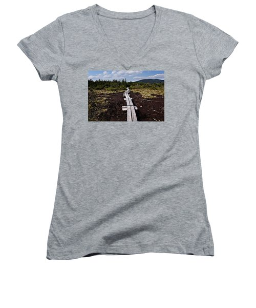 Bridge To Mizpah Women's V-Neck
