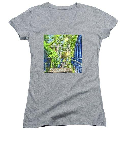 Bridge To Your Dreams Women's V-Neck