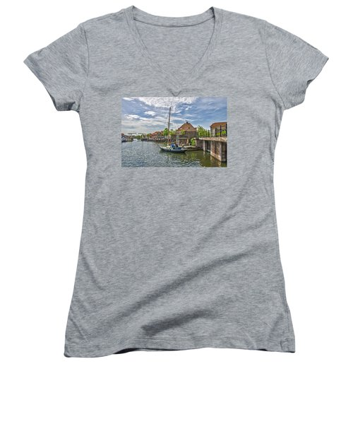 Brielle Harbour Women's V-Neck T-Shirt