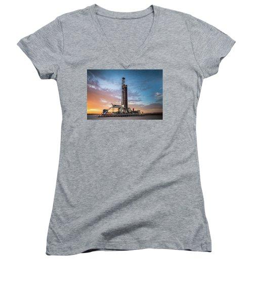 Brighter Days Women's V-Neck T-Shirt
