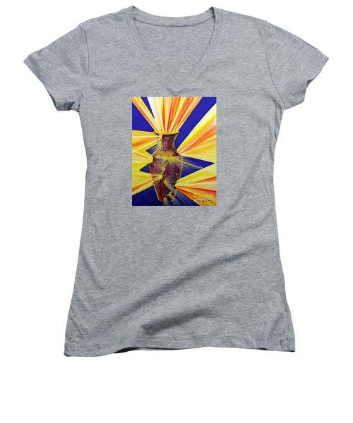 Broken Vessel Women's V-Neck T-Shirt