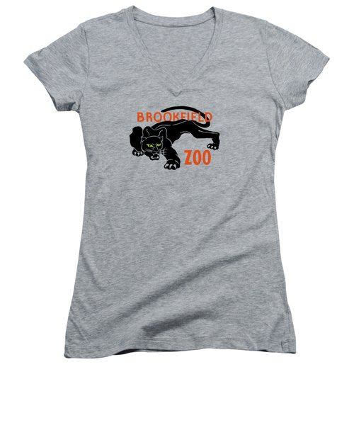 Brookfield Zoo - Wpa Women's V-Neck (Athletic Fit)