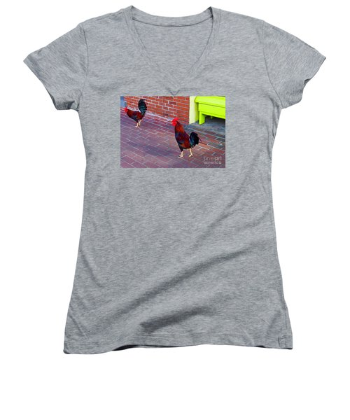 Brother Rosters Women's V-Neck (Athletic Fit)