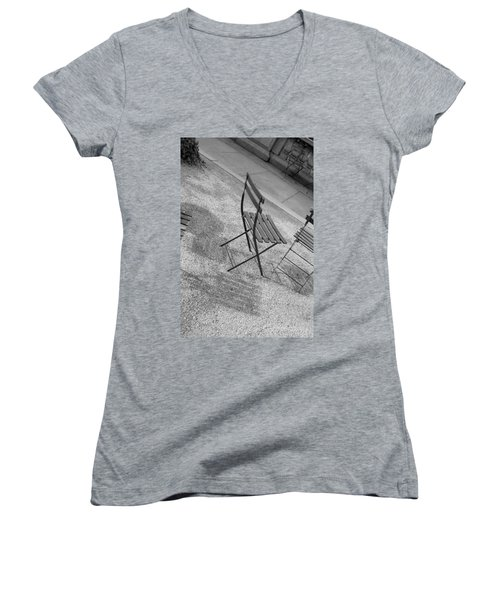 Bryant Park Nyc Women's V-Neck T-Shirt
