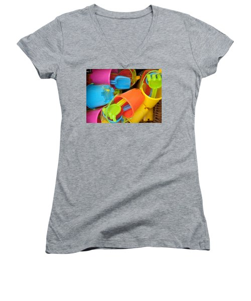 Buckets And Spades Women's V-Neck