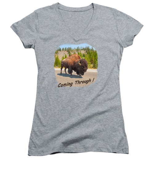 Buffalo Women's V-Neck