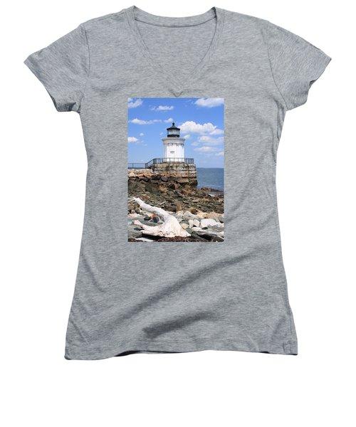 Bug Lighthouse Women's V-Neck