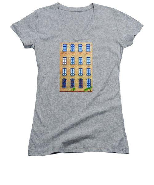 Building Windows Women's V-Neck