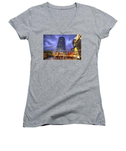 Bullring Centre Women's V-Neck T-Shirt