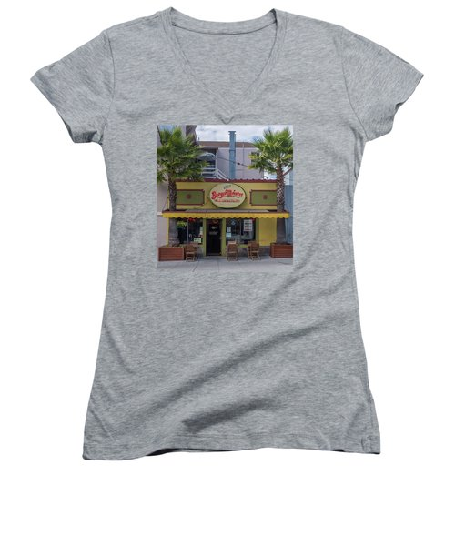 Burgermeister Restaurant, San Francisco Women's V-Neck