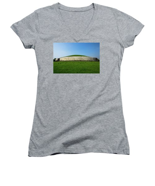 Burial Mound Women's V-Neck T-Shirt