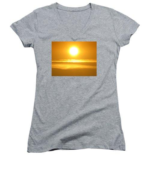 Burning Soul Women's V-Neck T-Shirt