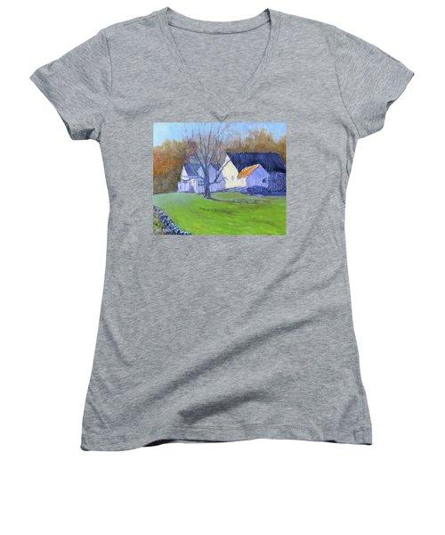 Burton Farm Women's V-Neck T-Shirt