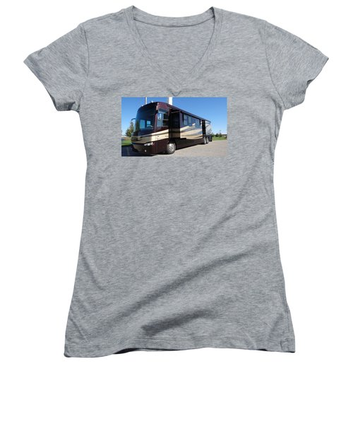 Bus Women's V-Neck (Athletic Fit)