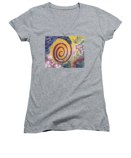 Butterfly's 'tongue' Women's V-Neck