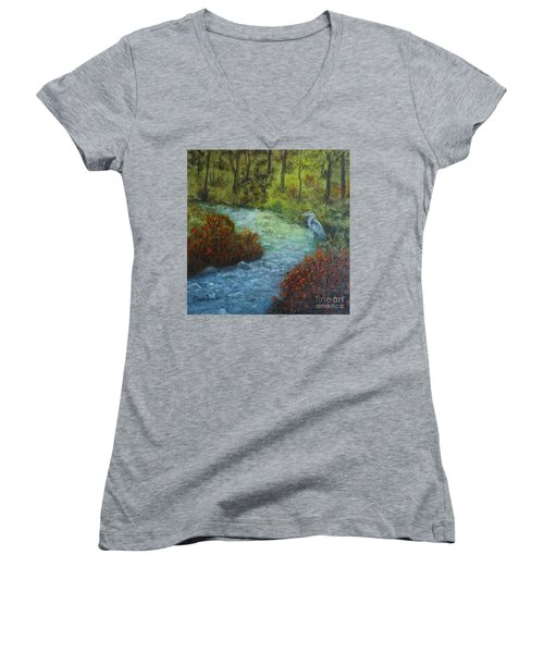 By The Brook Women's V-Neck