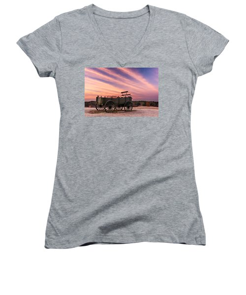 Bygone Days Women's V-Neck
