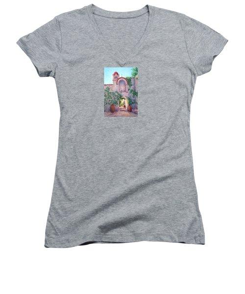 Byzantine Archway Women's V-Neck T-Shirt